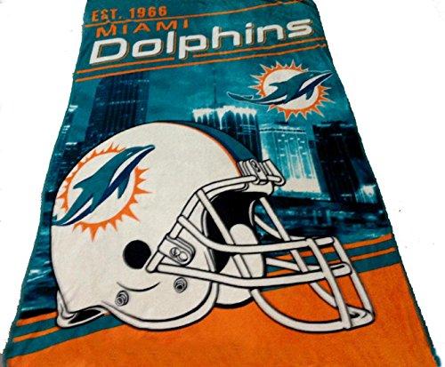 Northwest Miami Dolphins Soft Blanket - 9