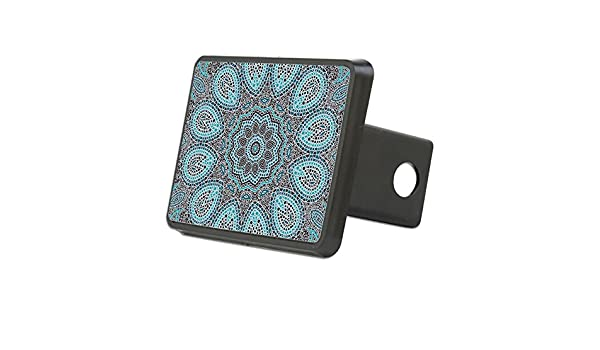 Trailer Hitch Cover CafePress Truck Receiver Hitch Plug Insert Celtic Knot and Floral Elements Hitch Cover