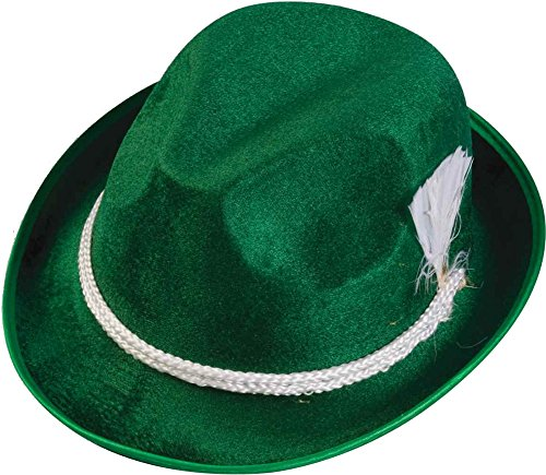 [Forum Novelties 64579 Oktoberfest Hat, Green] (Oktoberfest Costumes Hat)