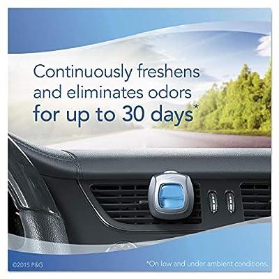 Febreze Car Vent Air Freshener, Midnight Storm, 0.06 Ounce (Pack of 8): Beauty