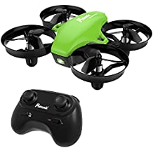 Potensic A20 Mini Drone RC Quadcopter 2.4G 6 Axis With Altitude Hold Function ,Headless Mode Remote Control Nano Quadcopter for Beginners - Green …