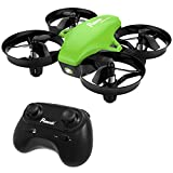 #5: Mini Drone, Potensic A20 RC Nano Quadcopter 2.4G 6 Axis With Altitude Hold Function, Headless Mode Remote Control Best Drone for Beginners & Kids - Green