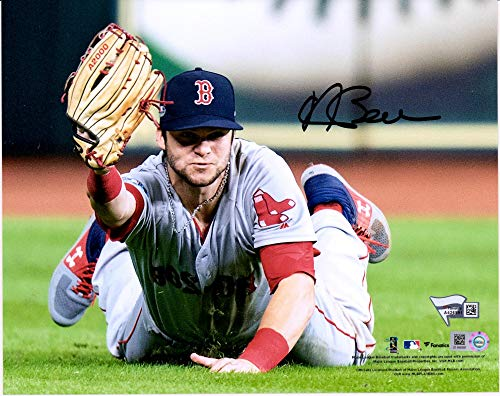 Andrew Benintendi Boston Red Sox Autographed 8