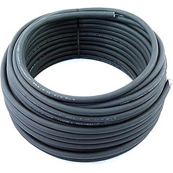 2,14€//m 5m H07RN-F 5G2,5 5x2,5 mm² Kabel Gummileitung Leitung Baustellenkabel