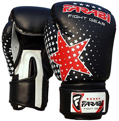 Farabi Kids boxing gloves junior boxing gloves junior MMA Muay thai kickboxing and punching bag mitts 6Oz
