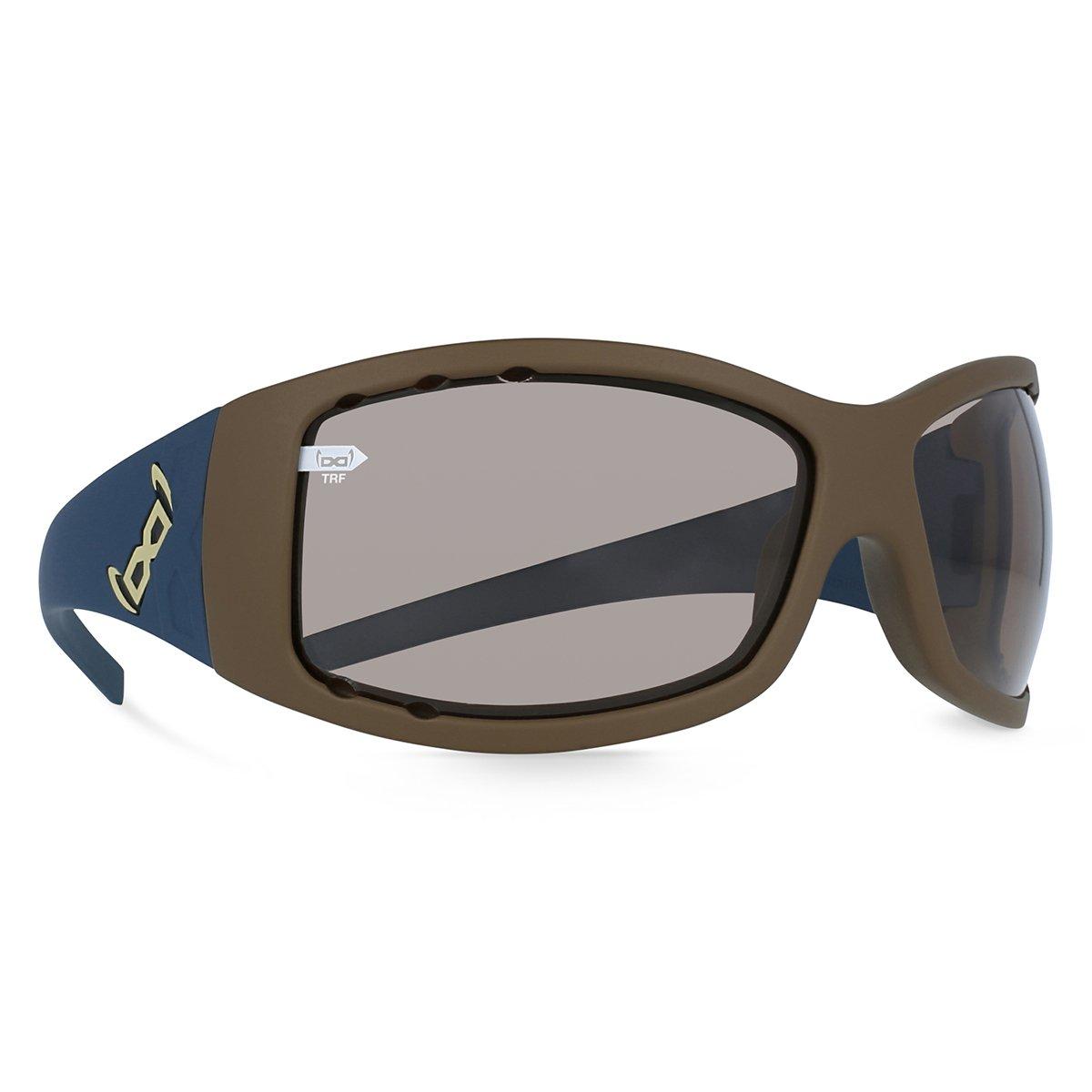 Gloryfy Herren Sonnenbrille G2 Twice Ecylipse AIR Braun Blau Sonnenbrille