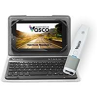Vasco Traveler Premium 7 + Keyboard + Scanner: Voice Translator, GPS, Travel Phone, Guide and much more!
