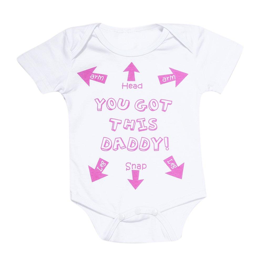 domybest verano Pelele Mono corto niñas bebés camiseta de manga ...