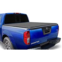 Tyger Auto T1 Soft Roll Up Truck Bed Tonneau Cover for 2005-2020 Nissan Frontier; 2009-2014 Suzuki Equator  Fleetside 5' Bed  TG-BC1N9034