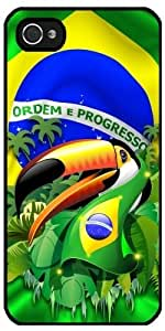 Case for Iphone 5/5S - Toco Toucan with Brazil Flag