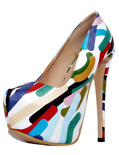 color 5 PU us10 5 ZQ eu42 Stiletto y mujer Trabajo 5 multi Multicolor Fiesta Oficina uk8 us10 Tacones Tac¨®n multi Noche color cn43 5 uk8 5 cn43 Tacones eu42 eu42 5 us10 y Boda de color multi Zapatos uk8 cn43 6U6qHT