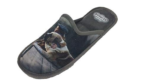 Zapatillas de Estar por casa/Hombre/Biorelax/Grenoble: Amazon.es: Zapatos y complementos