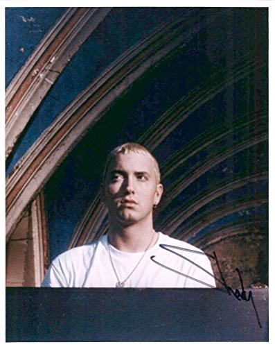 Eminem Slim Shady Very Rare Signed Authentic Autographed 8x10 Photo