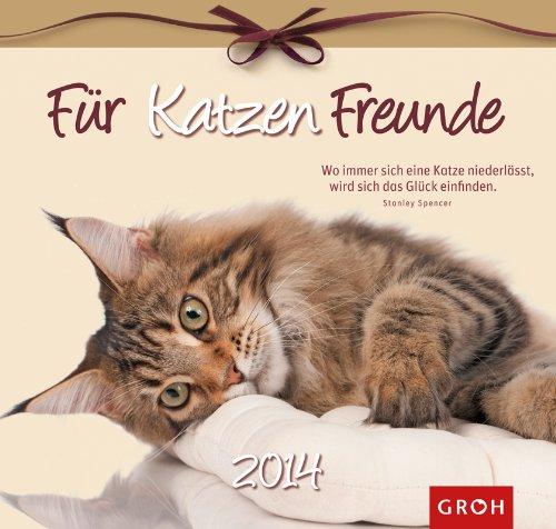 Für Katzenfreunde 2014. Wandkalender