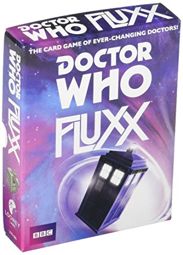 Looney Labs Doctor Who Fluxx Good Card Game