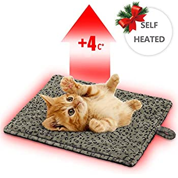 MARUNDA Thermal Cat Mat, Cozy Self Heating Cat Pad.(22 x 15 inches)