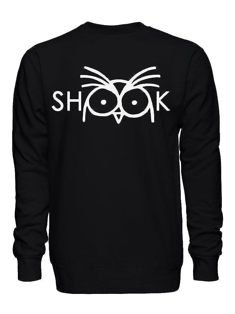 graphke Shook Owl Artwork Unisex Crew Neck Sweatshirt