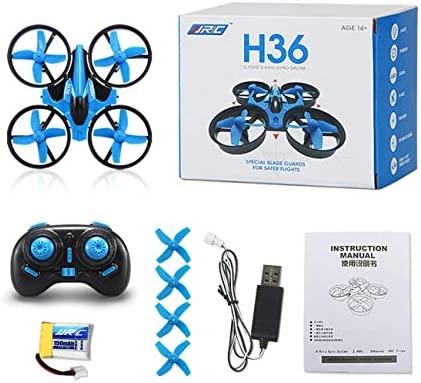 LasVogos H36 Mini RC Drone Quadcopter Modo sin Cabeza One Key ...