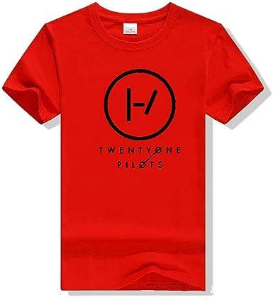 Mchooded Camiseta Deportiva Camiseta Deportiva Unisex clásica Twenty One Pilot Music Rap Sportswear Camiseta Elegante para Hombres y niños Estampado Negro: Amazon.es: Ropa y accesorios