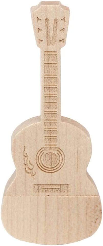USB Stick Guitarra madera 32 GB – USB Stick - Memory Stick - Pendrive USB de madera, color marrón: Amazon.es: Informática