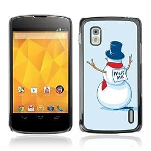 Designer Depo Hard Protection Case for LG Nexus 4 E960 / Snowman Suicide