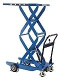 Vestil CART-400-D-HR Double Scissor Cart, 400 lb. Capacity, 23.6'' x 35.4''