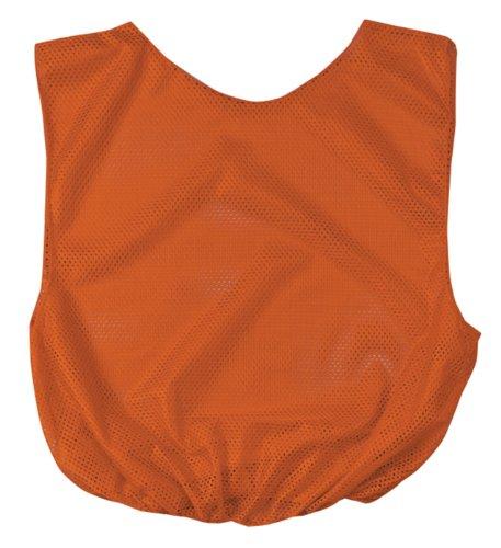 Markwort Youth Poly Scrimmage Vests (Pack of 6), Orange ()