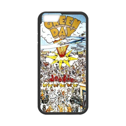 "Fayruz - iPhone 6 Rubber Cases, Green Day Hard Phone Cover for iPhone 6 4.7"" F-i5G562"