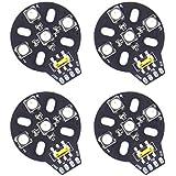 4pcs HGLRC WS2812B RGB LED Built-In Controller 5050 LED for F3 F4 Naze32 CC3D
