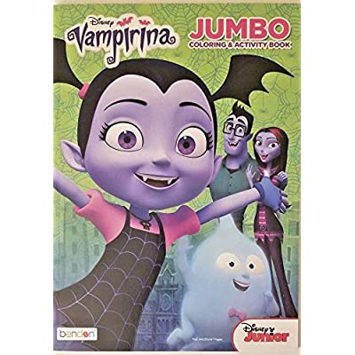 Disney Vampirina Jumbo Coloring and Activity Book 96 Pages: Toys & Games