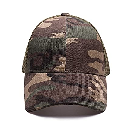 SLGJ Gorras Sombreros Sombreros para Hombres Mujeres coleta de Gorras Snapback Papá Casquette Hat Gorro Visera
