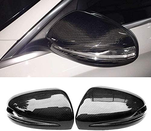Cavis for Mercedes W205 W213 X253 ABS Carbon Fiber Replacement Side Mirror Covers Wing Mirror Covers Caps