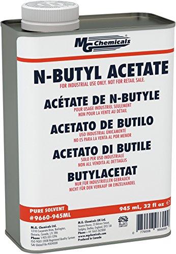 MG Chemicals n-Butyl Acetate, 945 mL Metal - Acetate Resin