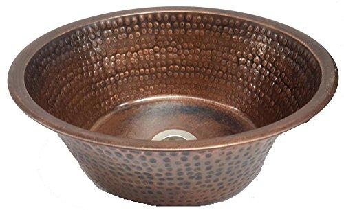 Egypt gift shops Antique Patina Copper Bathroom Vessel Pan Panning Sink Lavatory Basin Vanity Bowl