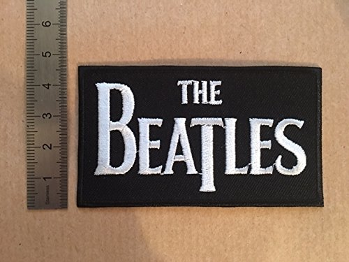 ECUSSON PATCHES AUFNAHER TOPPA - THE BEATLES - THERMOCOLLANT BLUE HAWAI