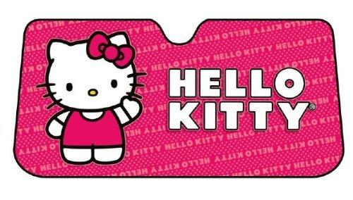 Hello Kitty Car Sunshade - Hello Kitty Car Sunshade Auto Accessories 58 x 28in