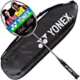 Yonex DUORA 77 Badminton Racket Black Red & Grey DUORA-77 (3U-G5)