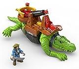 Fisher-Price Imaginext Walking Croc & Pirate