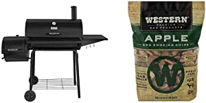 """Royal Gourmet 30"""" BBQ Charcoal Grill and Offset Smoker 