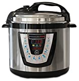 10-in-1 PressurePro 6 Qt Pressure Cooker - Multi-Use Programmable Pressure Cooker, Slow Cooker, Rice Cooker, Steamer, Sauté and Warmer - Black