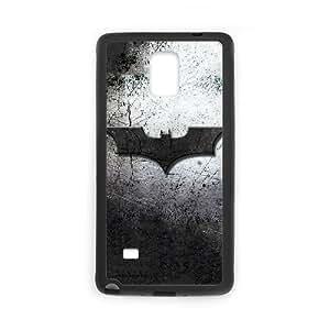 Funda Samsung Galaxy Note 4 funda caja del teléfono celular Negro batman logo B9Q9IP