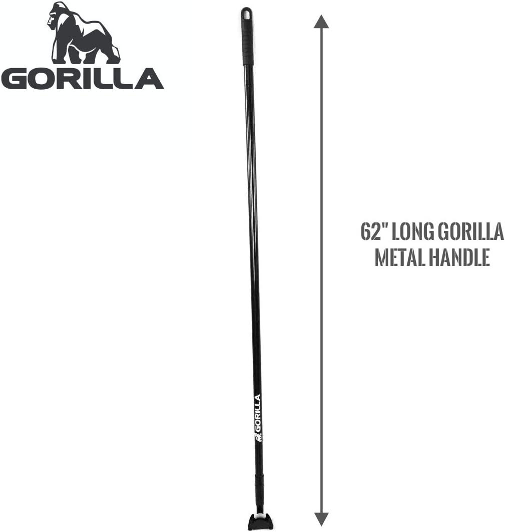 24 Cotton Polyester head with Metal Handle Floor Sweeper GORILLA Dust Mop Commercial Broom