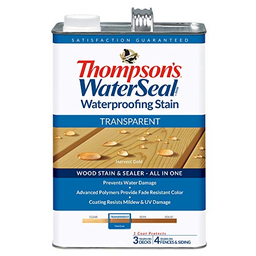Water Thompsons - THOMPSONS WATERSEAL TH.041811-16 Transparent Waterproofing Stain, Harvest Gold