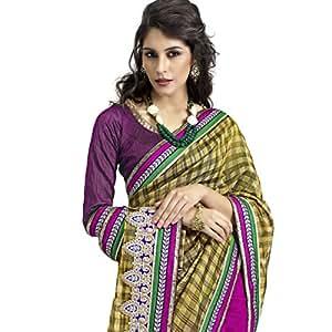 Shilp-Kala Banarasi Silk Border Work Magenta Colored Sarees SK76005a
