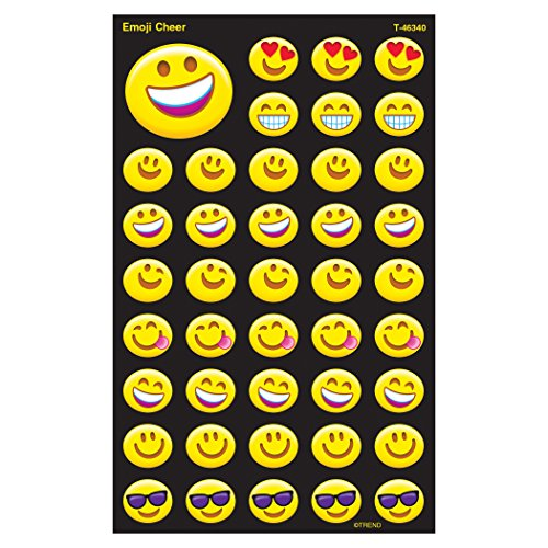 Emoji Smiley Face Stickers 336 Count