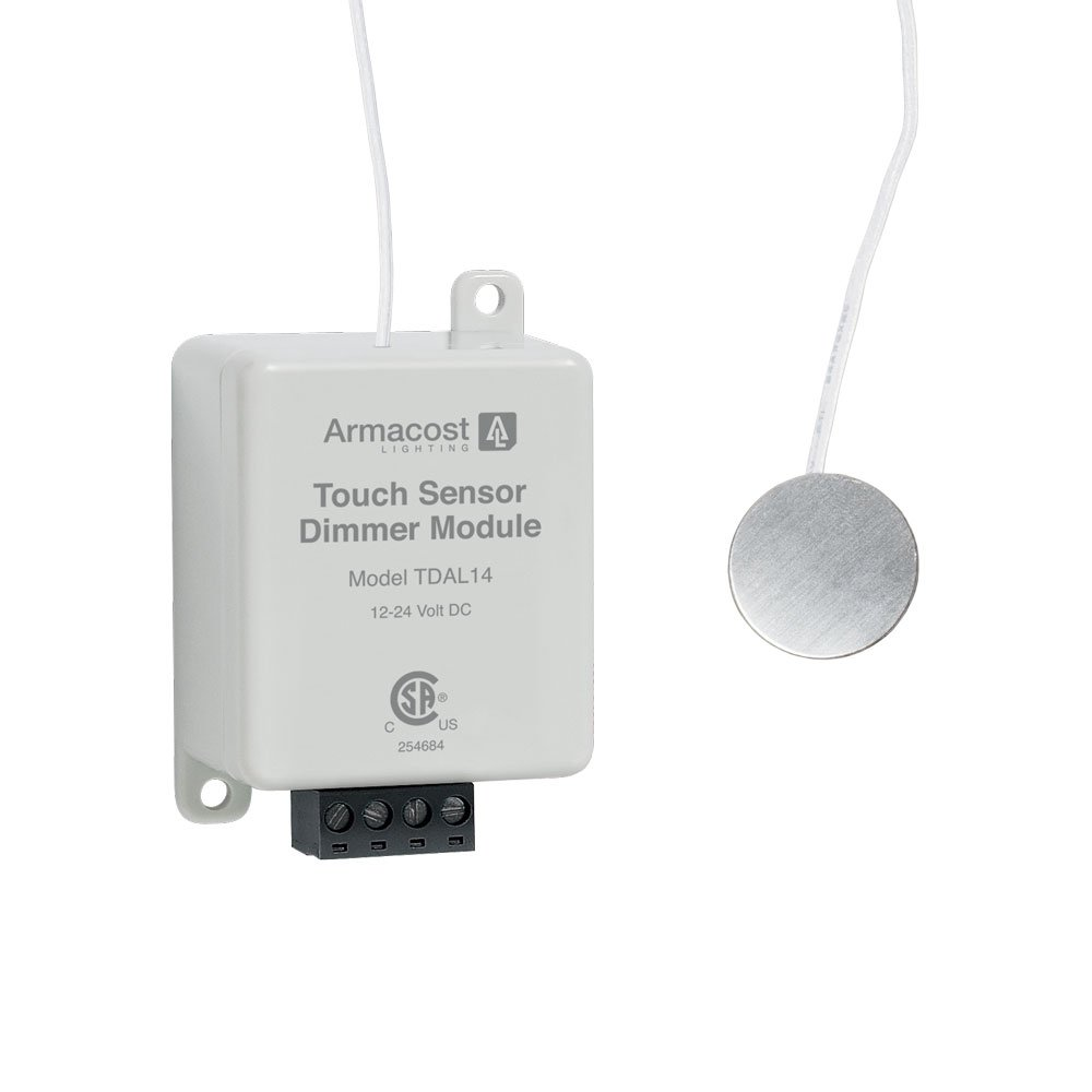 Armacost Lighting 511121 Remote Touch Dimmer and On/Off Switch, White