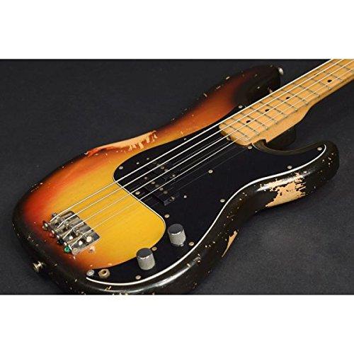 FENDER USA Precision Bass 1975 3-Color Sunburst (Fender Precision Bass Serial)