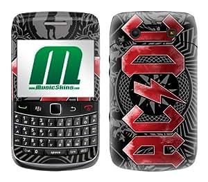 MusicSkins, MS-ACDC30043, AC/DC? - Black Ice, BlackBerry Bold (9700), Skin