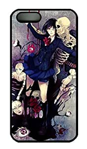 Rosesea Custom Personalized Dance With Skulls - iPhone 5 5S Case Funny Lovely Best Cool Customize PC iPhone 5 Cover Black by icecream design