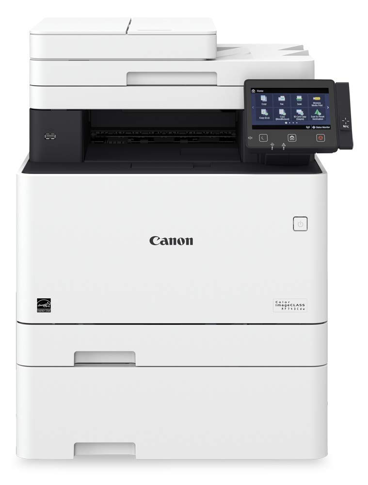 Canon Color imageCLASS MF743Cdw - All in One, Wireless, Mobile Ready, Duplex Laser Printer (Comes with 3 Year Limited Warranty) by Canon (Image #3)